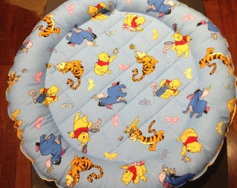 Winnie the Pooh- Quilted Cat Bed