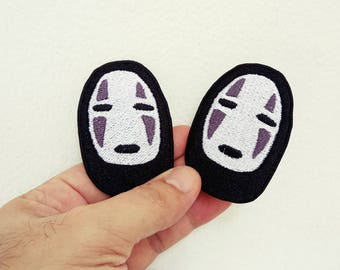 No-Face Ghost in Spirited Away - Iron on patch