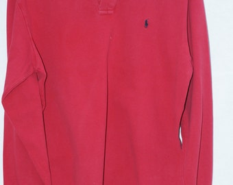 Vintage long sleeve Ralph Lauren polo shirt