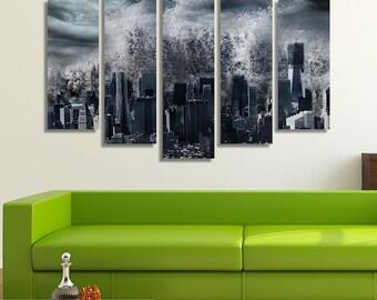 New York City, New York City Print, Black And White Photography, Black And White Wall Art, Black And White Canvas Art, New York Wall Art