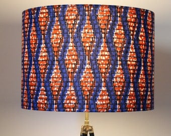 Lampshade / suspension - KINETIC WAX 1612-05 - orange, blue and white Wax