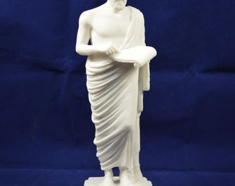 """Herodotus sculpture """"The Father of History"""" ancient Greek Historian statue"""