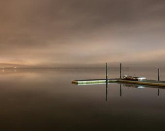 Foggy Night on the Potomac
