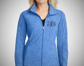 Ladies Embroidered Microfleece Jacket - Full Zip