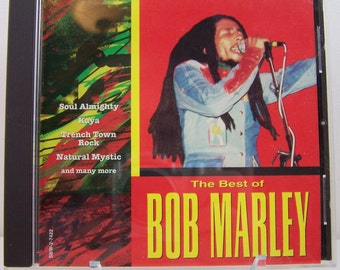 The Best of Bob Marley 1997 CD Jamaican Soul Reggae  Rasta Braids Island Sound #056775742225