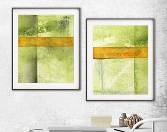 Set of 2 digital prints wall decor instant download printable art diptych art abstract digital print painting art line modern artwork decor