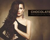 10 Chocolate Photoshop Actions