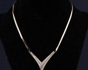 Vintage Geometric Necklace