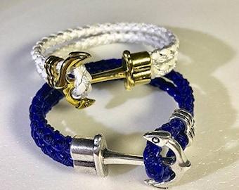 Men Women Braided Leather Bangle Bracelet