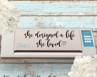 Vinyl Decal for Silhouette Cameo or Cricut, Silhouette Cameo Vinyl Decal, Cricut Vinyl Decal, Laptop Decal, Trendy Vinyl decal