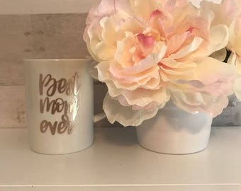 mothers day mug with card-best mom ever