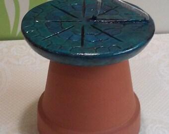 Fairy Garden Sundial Faerie House Garden Accessory Outdoor Clock