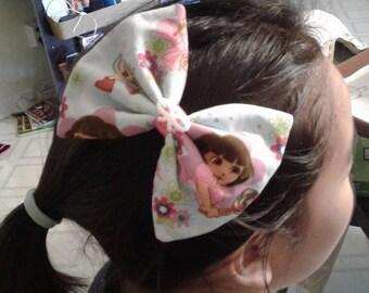 Dora the Explorer Hair Bow Clip