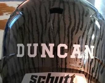 Helmet Name Decal
