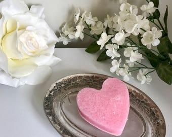 Heart Shaped Sugar Scrub Bar