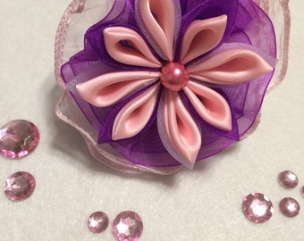 Pink Hair ponytail holder