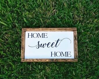 Home Sweet Home, Farmhouse, Home Sign, Farmhouse, Home Gifts, Home, Sweet Sign, Rustic Decor, Sweet Signs of Life