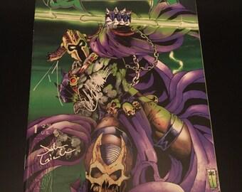 Globlin Lord #1 (VF Signed Comic Book)