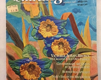 Quilting Arts Magazine Volume One number Two