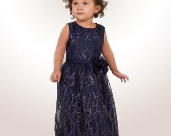 Midnight Blue Celebrating Gown