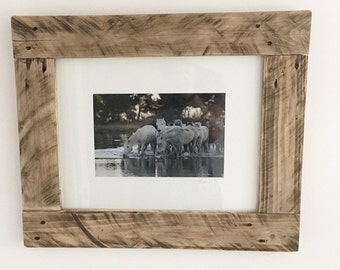 Rustic Frame & Original Print