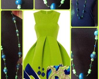 Daphne ... long necklace, necklace