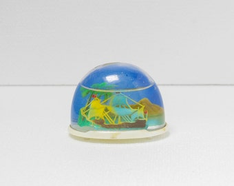 """Pirate island"" snow globe"