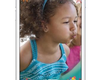 Circus/Carnival Birthday Snapchat Filter