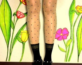 Polka Dots Tights, Socks Style