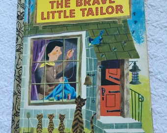 1975 Vintage Golden Book: The Brave Little Tailor