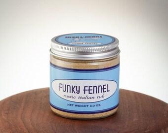 Funky Fennel Rustic Italian Rub