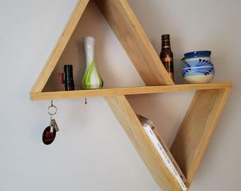 Triangle Wall-Mount Shelf