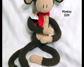 Stuffed Monkey