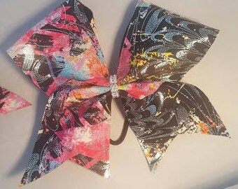Abstract Pink Bow