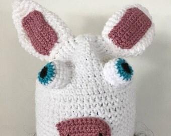 Cartoon Bunny Character Hat