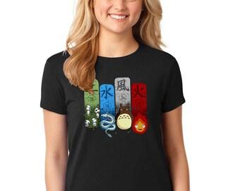 Studio Ghibli Elemental Charms T-Shirt
