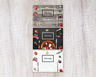 Placemats Printable Food Design A3 (42x29.7 Cm)