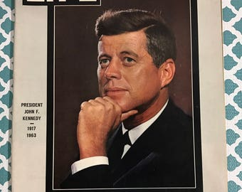 November 29, 1963 JFK Life Magazine