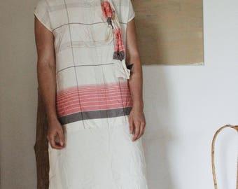 1940's Silk Dress