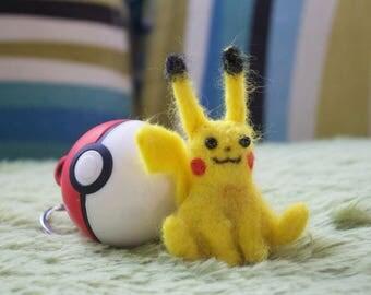 Needle Felted Pikachu