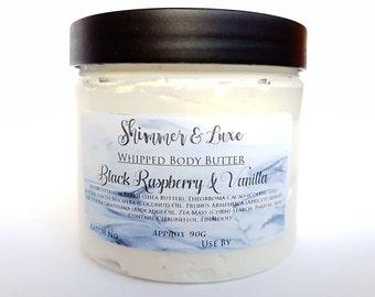 Whipped Body Butter, Black Raspberry & Vanilla Fragrance