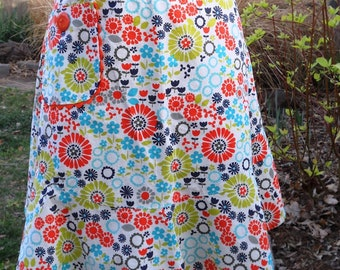 Half Apron - Summer Floral Print