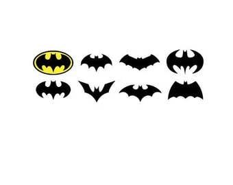 Bat Symbols SVG bundle