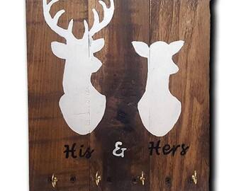Buck & Doe Key Hook