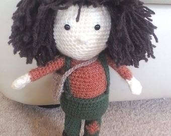Male doll: crocheted