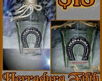 Herradura Tequila Bottle Soap Dispenser