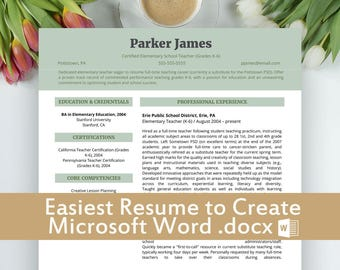 Sample Objective Resume Pdf Resume Examples  Etsy College Student Resume Template Microsoft Word Pdf with Resume Vs Cover Letter Word Resume Templates Teaching Resume Template Resume Templates Word  Download Resume Pdf Example Of An Objective On A Resume Excel