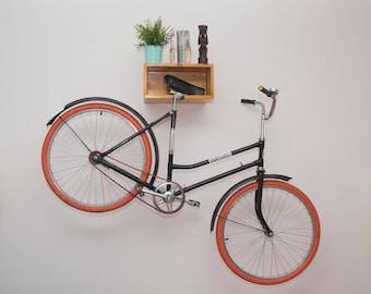 Wooden Bike Rack (Saddle Sprocket) - all bike types