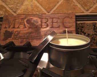 8 oz. Vanilla Handmade Natural Soy Wax Candle