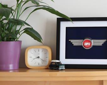 Winged Mini Cooper S Bonent badge art
